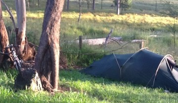 Campsite near Grafton Australia - Roadside Rest Area