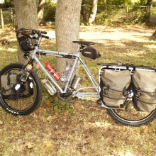 Fat Tire Longtail Mountain Bike