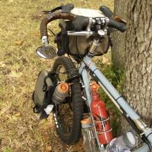 Xtracycle LHT cockpit