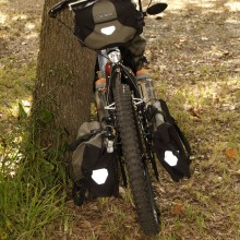 Semi Fat Tire Bike