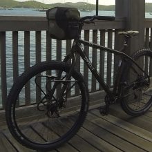 1x10 Surly ECR on the Havensight Boardwalk